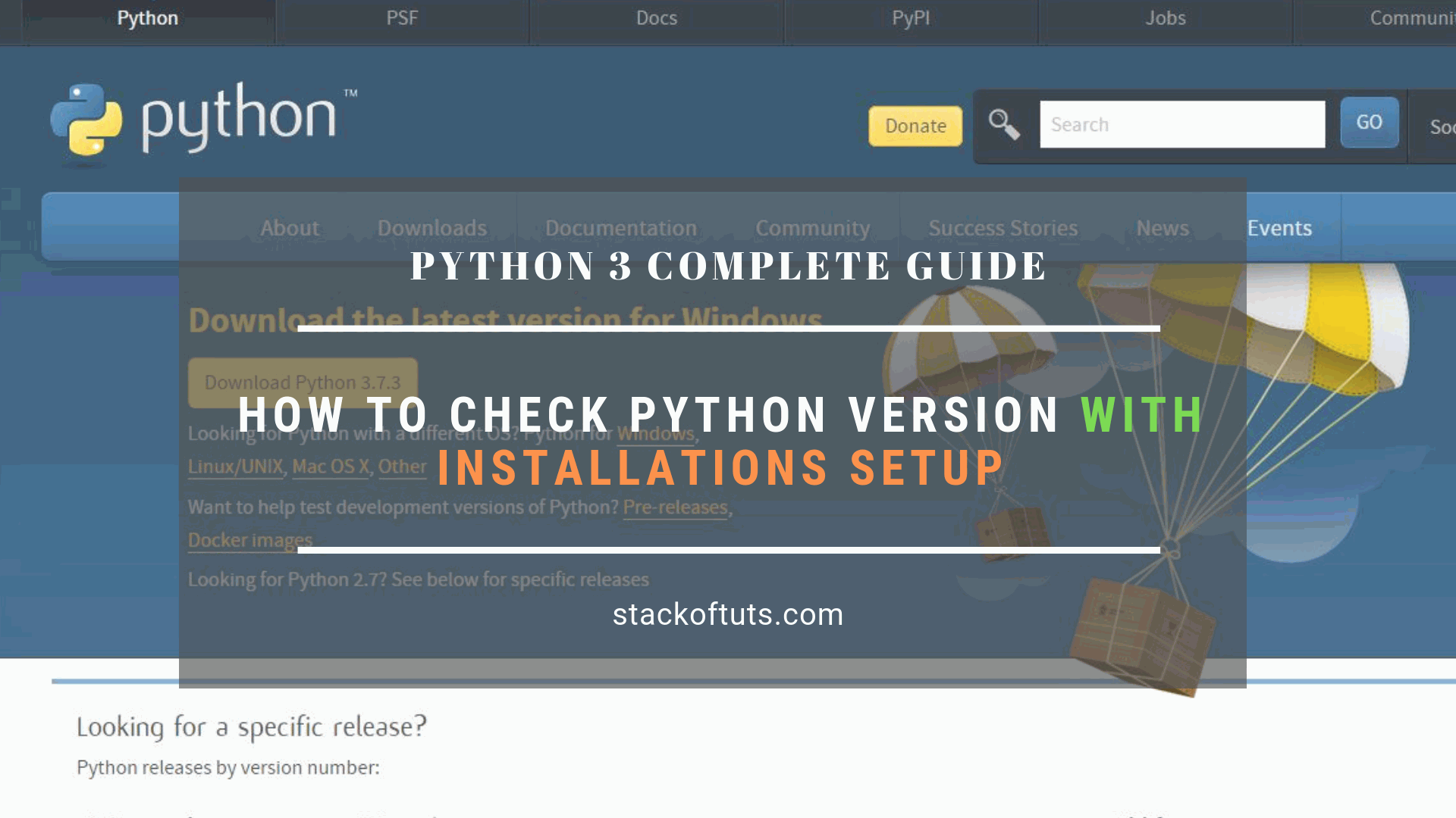 How to install python on windows Check Python version in windows 7