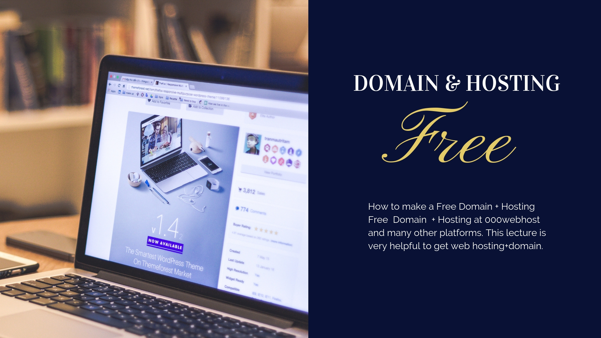How to make a free Domain + Hosting? complete series
