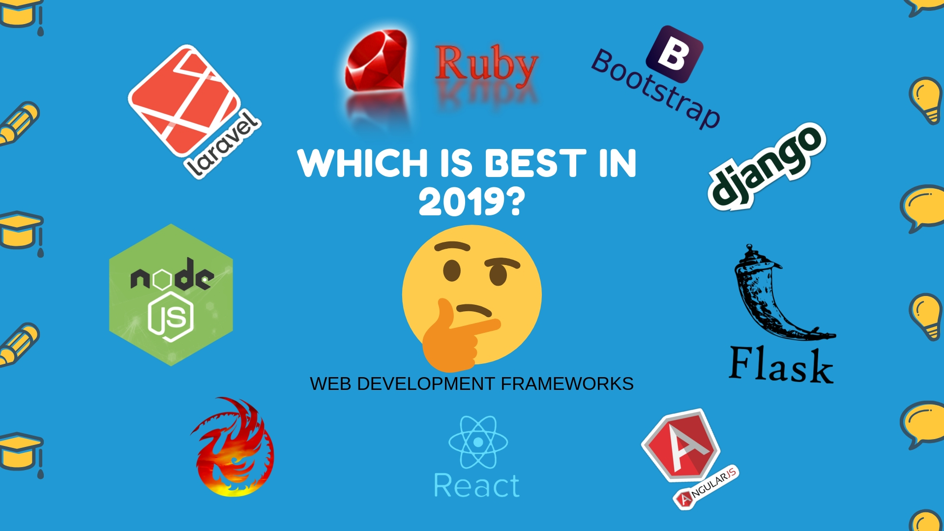 Best web development frameworks 2019 | Backend Plus Frontend