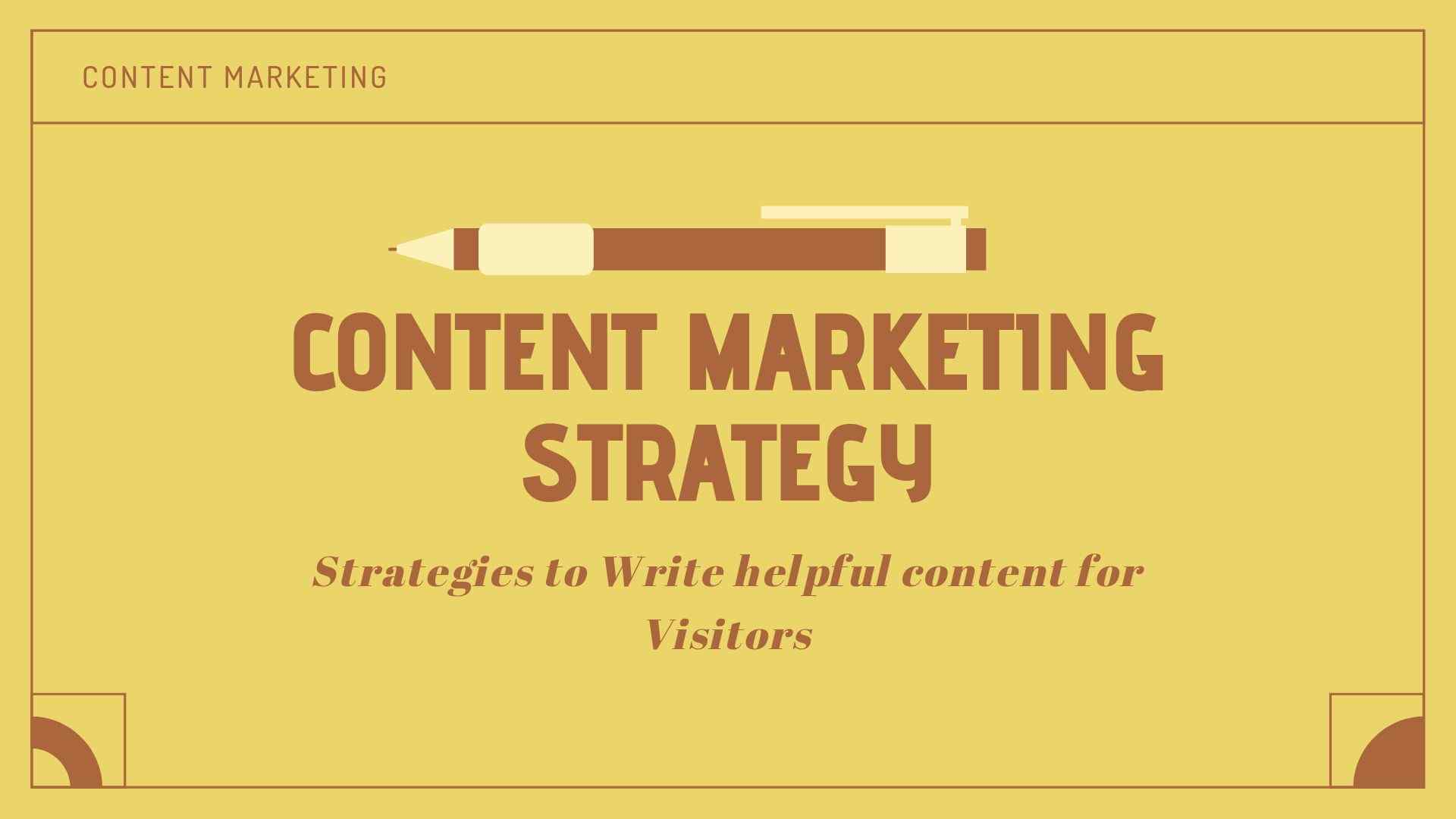 Content Marketing Strategy 2019