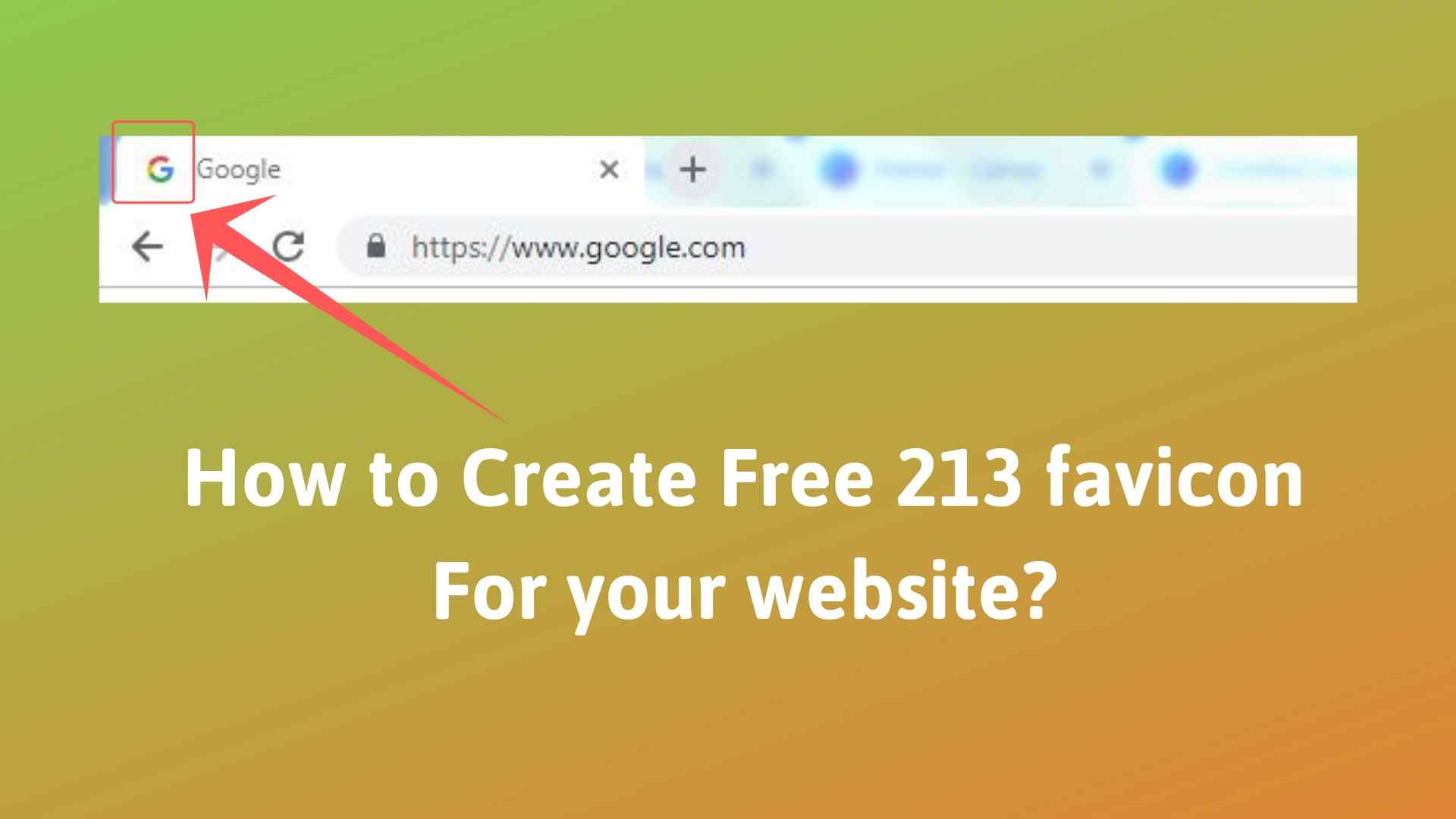 How to Create a Favicon For Your Website