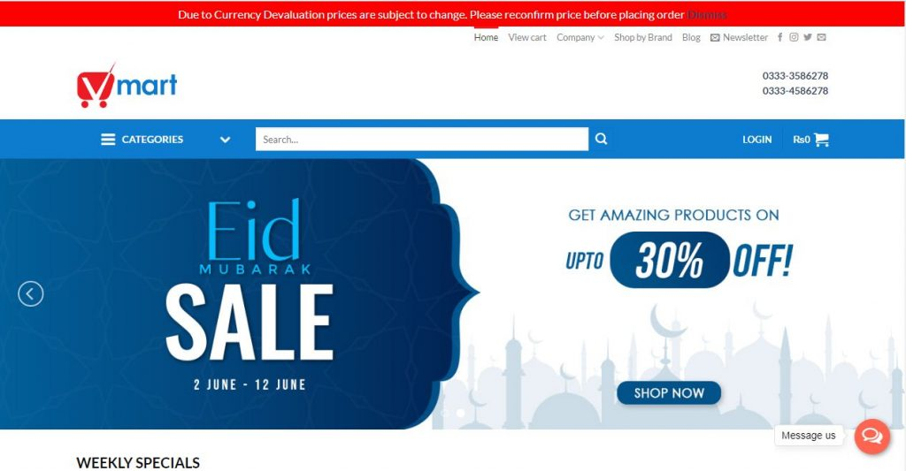 Vmart.pk - Shopping site in Pakistan 2019
