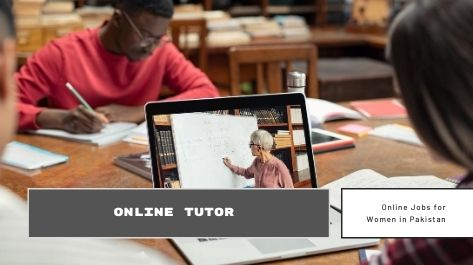 Online Tutor Jobs for female at home in Pakistan