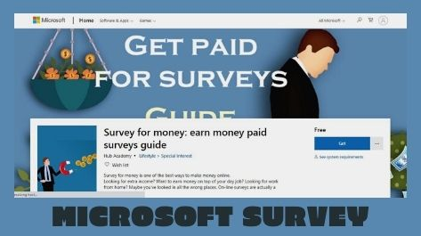 Get Survey Jobs for Money in Pakistan by Microsoft