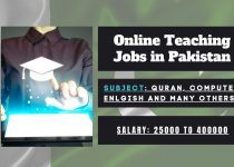 Online teaching jobs in Pakistan at home part-time for students (1)