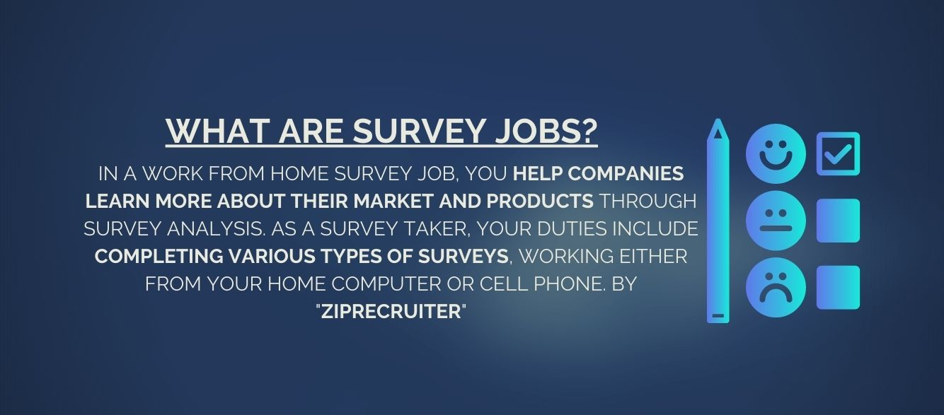 What are survey jobs