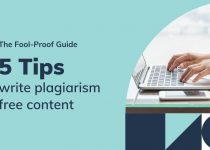 5 tips to write plagiarism free content for your website