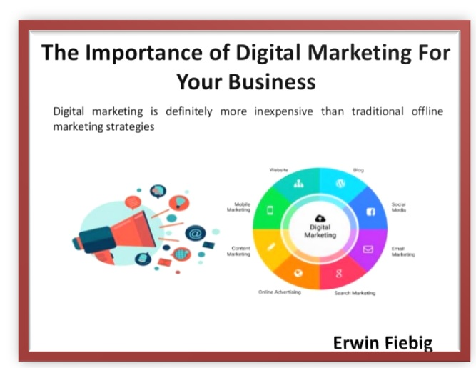 The importance of digital marketing as your profession or business