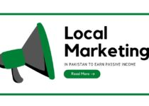 Local Marketing in Pakistan to earn passive income