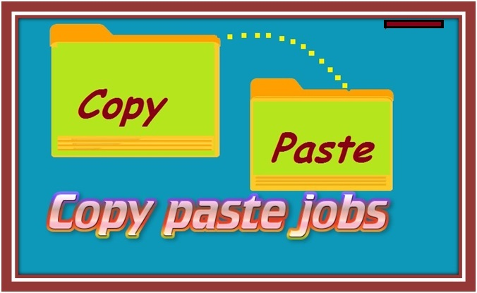 copy paste online work at home