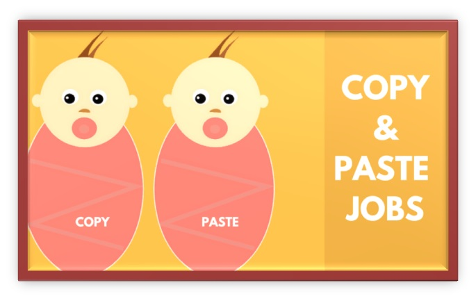 what is the copy paste online job